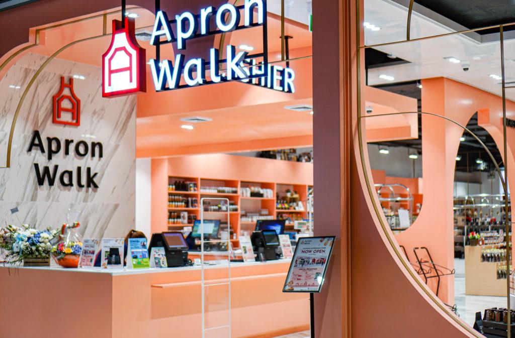 apron walkの売り場@Samyan Mitrtown