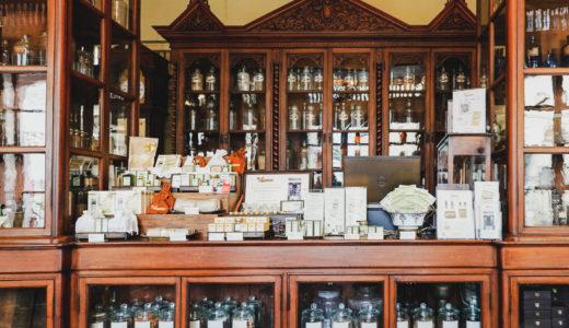 【バンコクのレトロ建築】まるで博物館。1924年創業の薬局「Baan Mowaan」