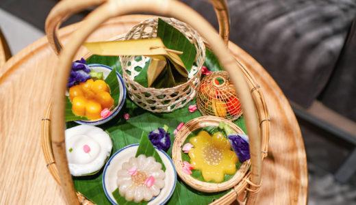【バンコクおしゃれカフェ】タイ伝統菓子専門のデザートカフェ「Cher Cheeva Cafe」