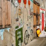 Nostalgic Bangkok Street Art @ Chinatown, Talat Noi