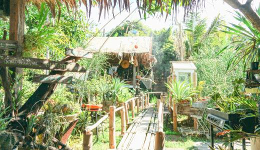 【バンコクおしゃれカフェ】サバーイ度100%な緑の楽園!「James 500 Organic Farm Style」