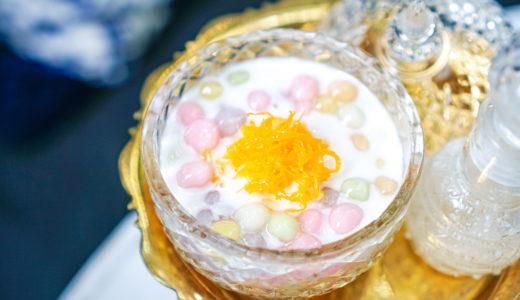 【バンコクおしゃれカフェ】築106年の歴史建築「Gingerbread House」で食べるタイ伝統菓子。
