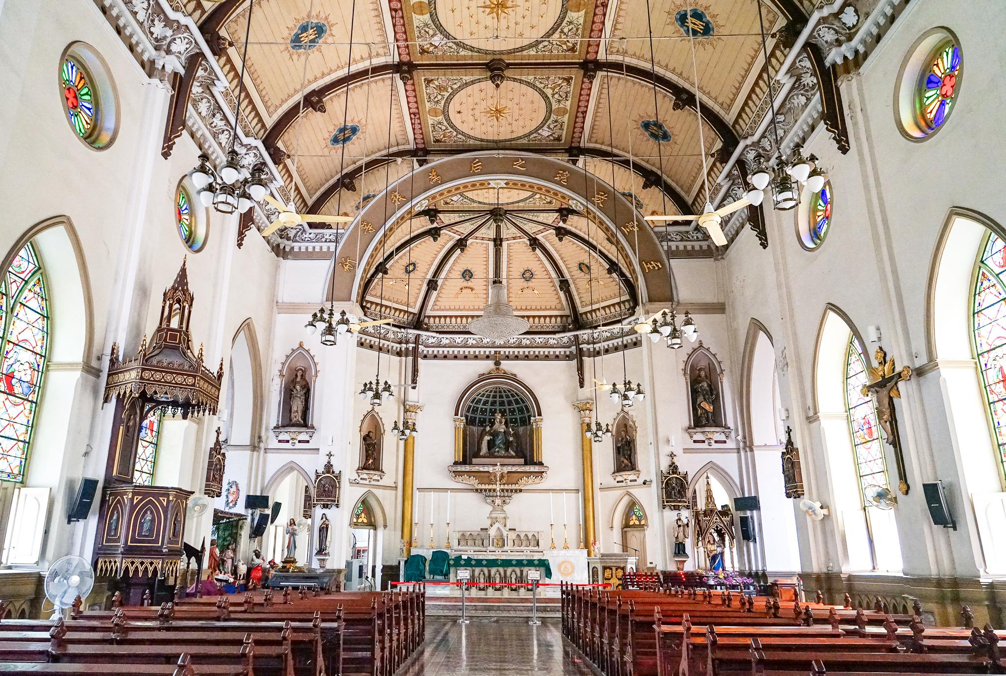 バンコクに残るポルトガル文化の面影「Holy Rosary Church」教会