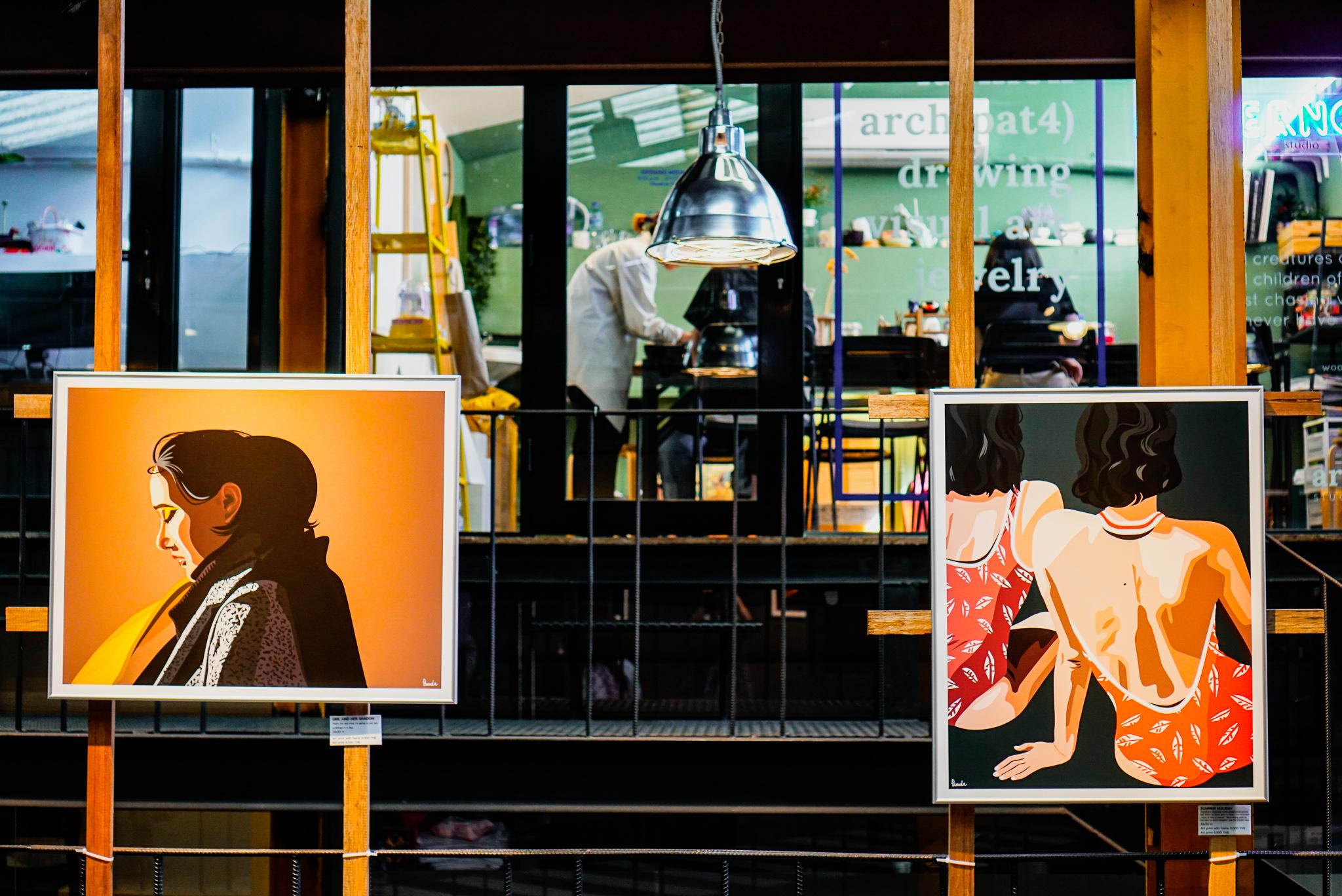 バンコク・センセープ運河沿いのアートスペース&カフェ「YELO House」