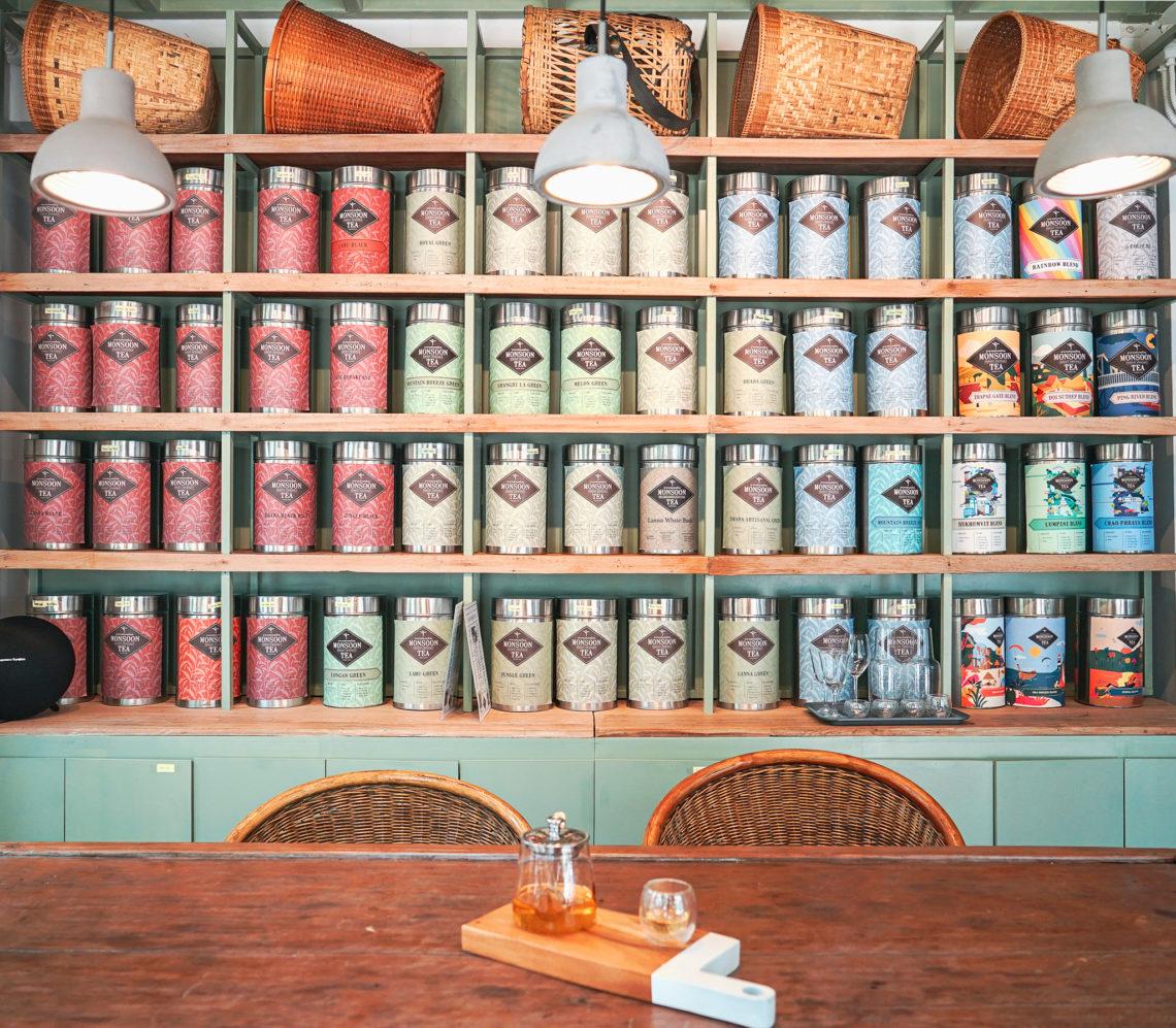 アソークに誕生!モンスーンティーの路面店「Monsoon Tea Asok」