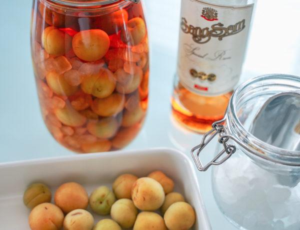 家ごもりを楽しく。タイの青梅で梅酒(เหล้าบ๊วย)を作ろう。