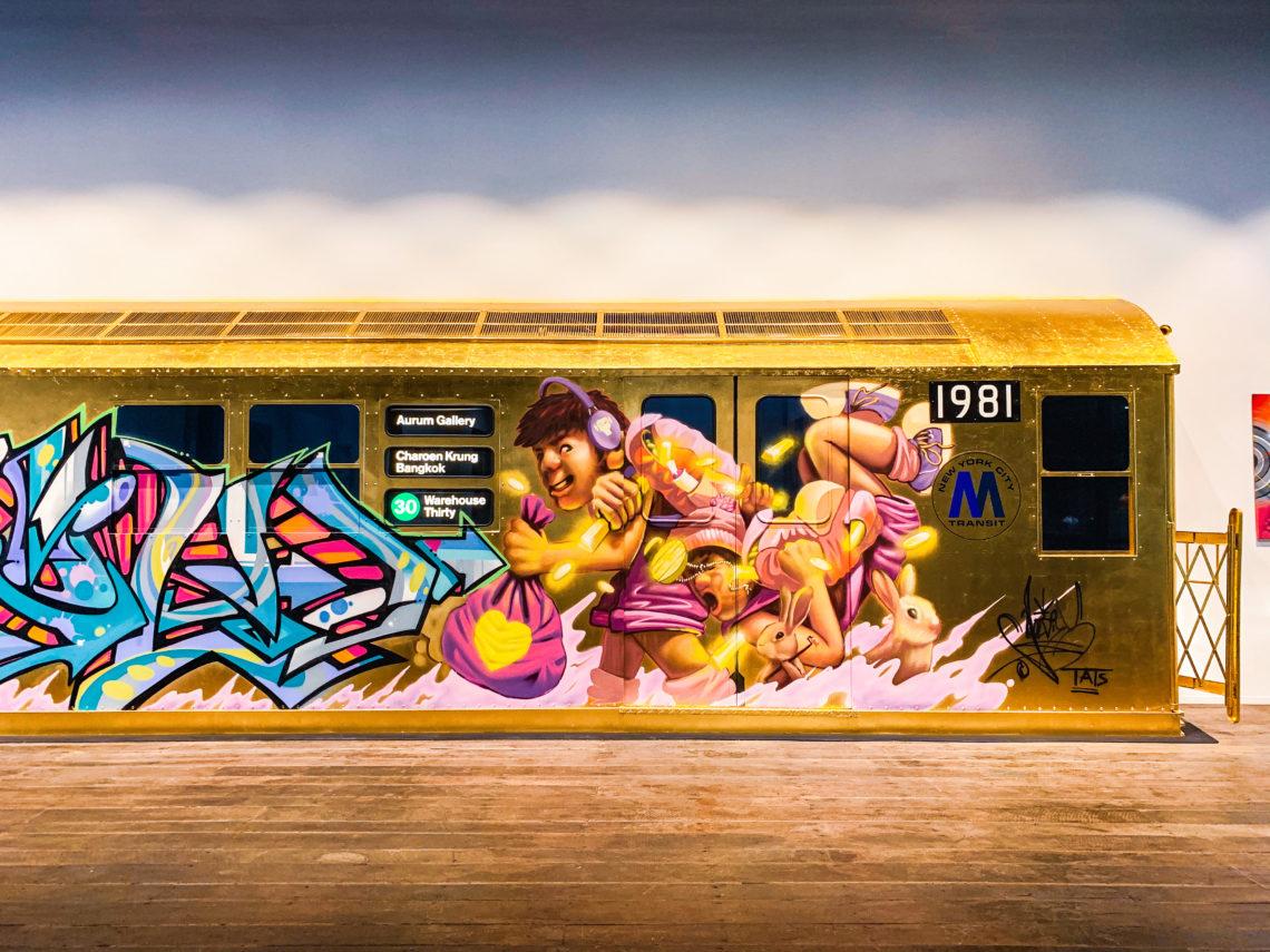 UKドラムンベースの王Goldieのギャラリー「AURUM GALLERY」がバンコクにオープン!