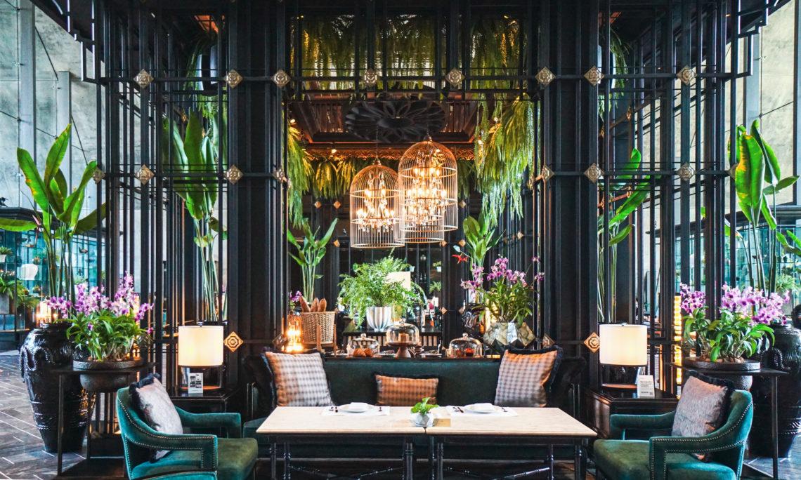 バンコク最先端の建築。「Sindhorn Kempinski Hotel」がランスアンに誕生。