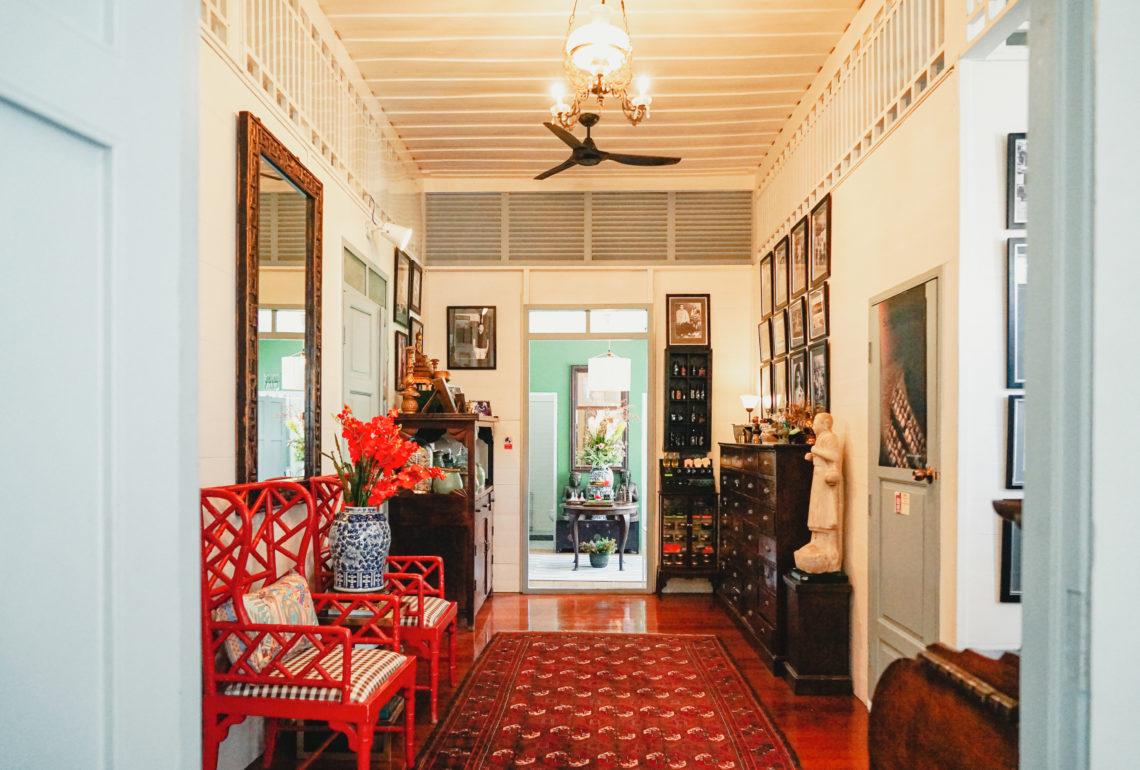 バンコク旧市街の隠れ家カフェ&スパ「BAAN YA HOM ZANTIIS」
